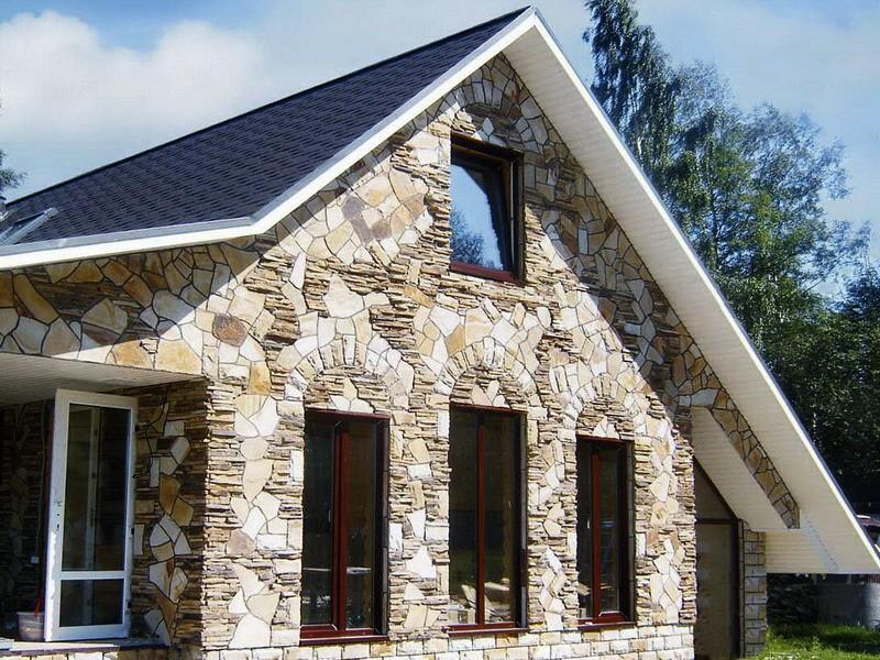 Самые дешевые материалы для отделки фасада